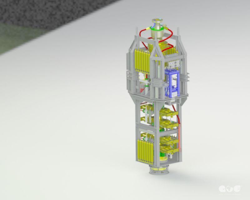 Global Offshore Engineering   Design for BOP Frame Cameron U