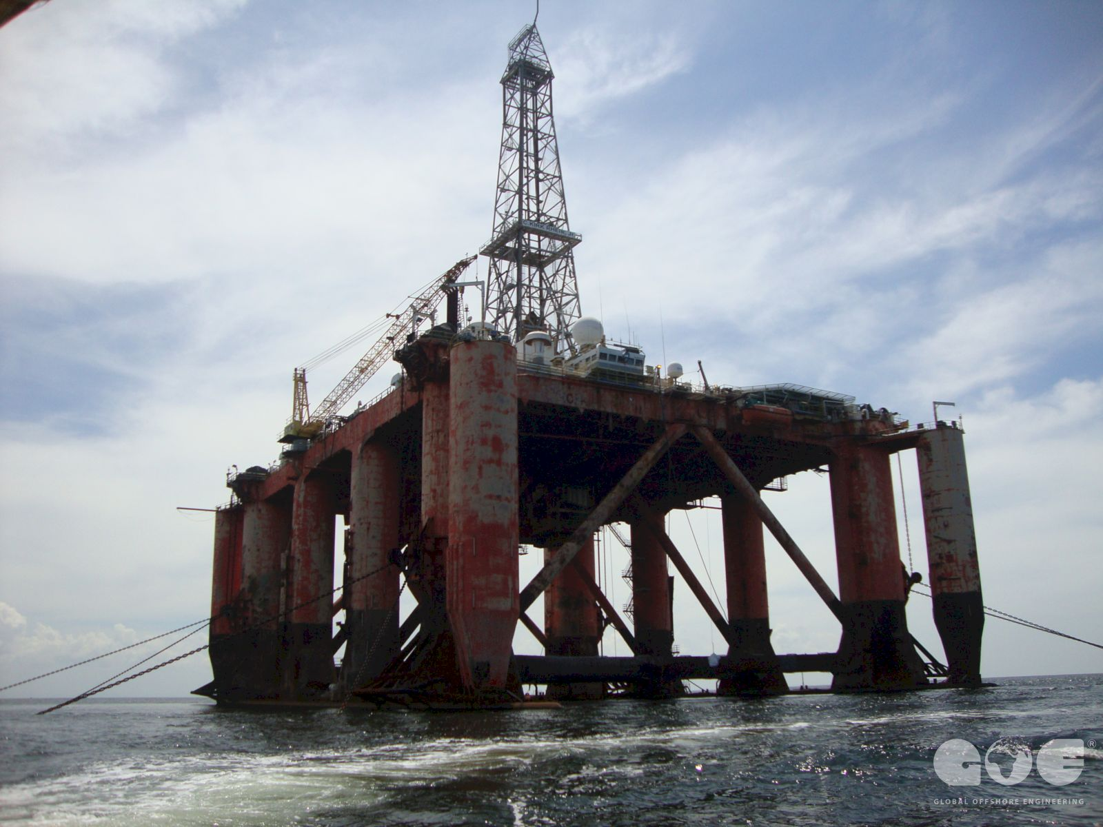 Global Offshore Engineering | Rig condition surveys